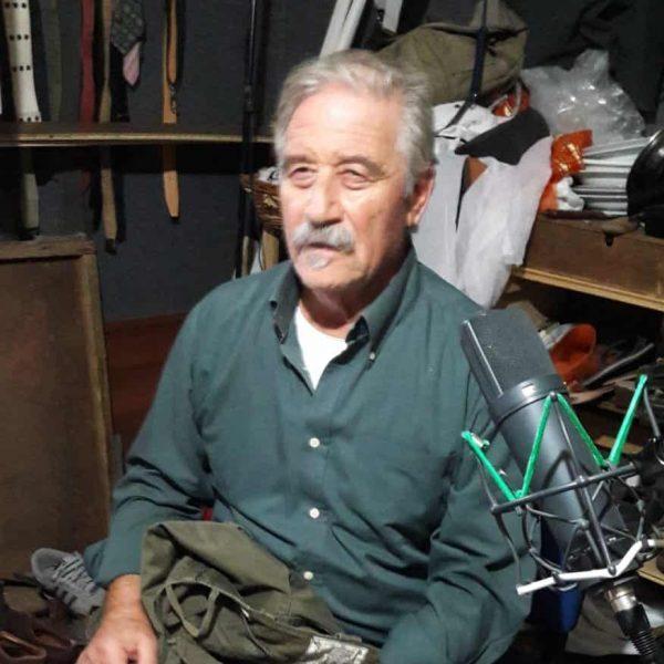 Mario Giacco al lavoro
